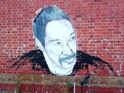 graffit seen near Tower Bridge, London (Dec, 2008)